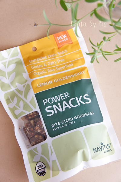 Navitas Naturals, Power Snacks, Lemon Goldenberry