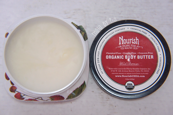 Nourish Organic Body Butter Wild Berries