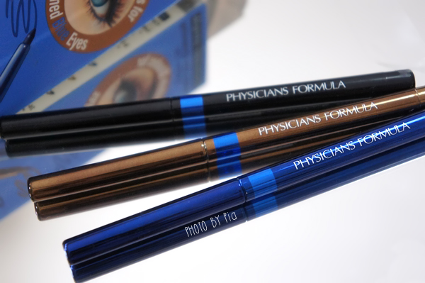 Physician's Formula, Inc., Shimmer Strips, Custom Eye Enhancing Eyeliner Trio, Blue Eyes