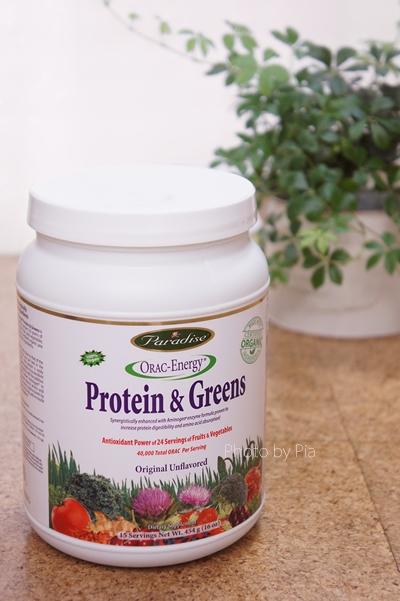 Paradise Herbs ORACエナジー プロテイン&グリーン