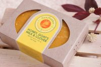 Sunfeather Soaps, Honey, Goat's Milk & Clover Bar Soap