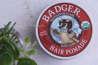 Badger Company, オーガニック・ヘアーポマード