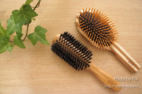 Bass Brushesのヘアブラシ